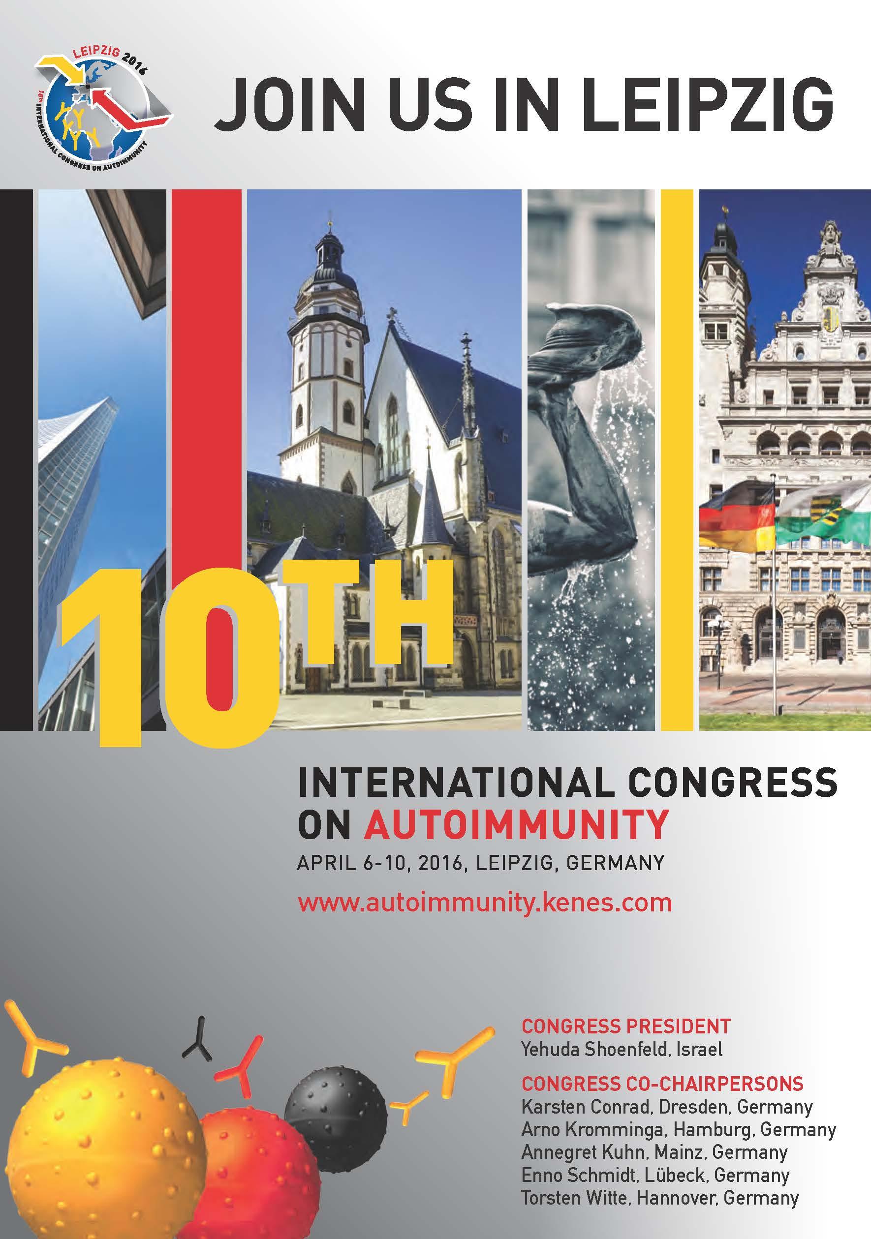 International Conference in Autoimmune Diseases, Leipzig, Germany
