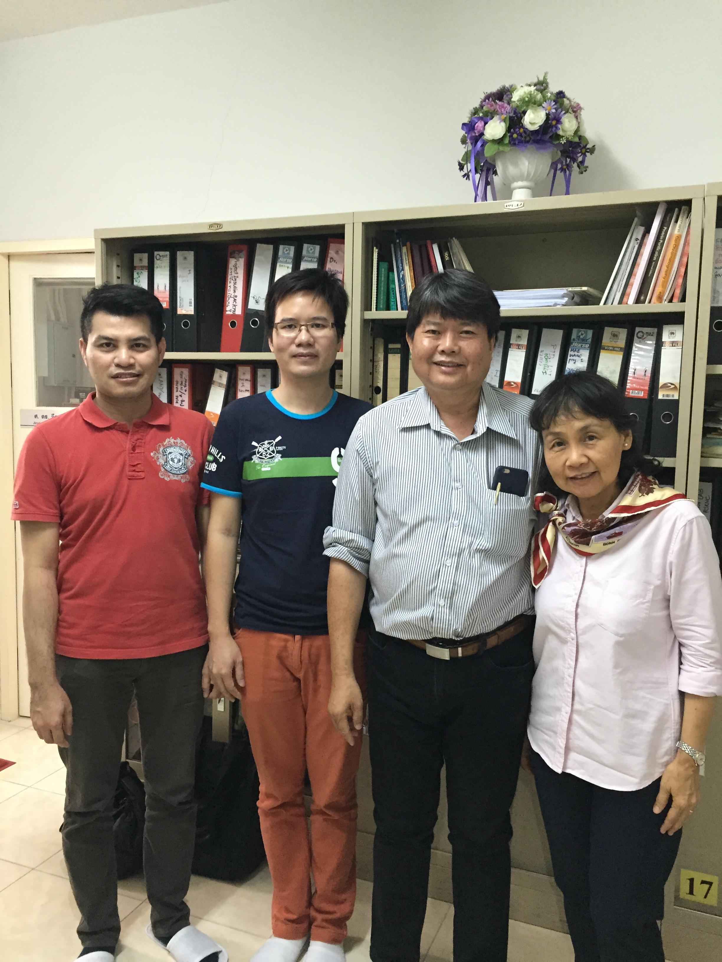 Mr. Chewapat Pairachapin and Mr. Kanisorn Mathaphumsophon from Star Route Travel and Global Service Co., Ltd. have visited Manose Health and Beauty Research Center