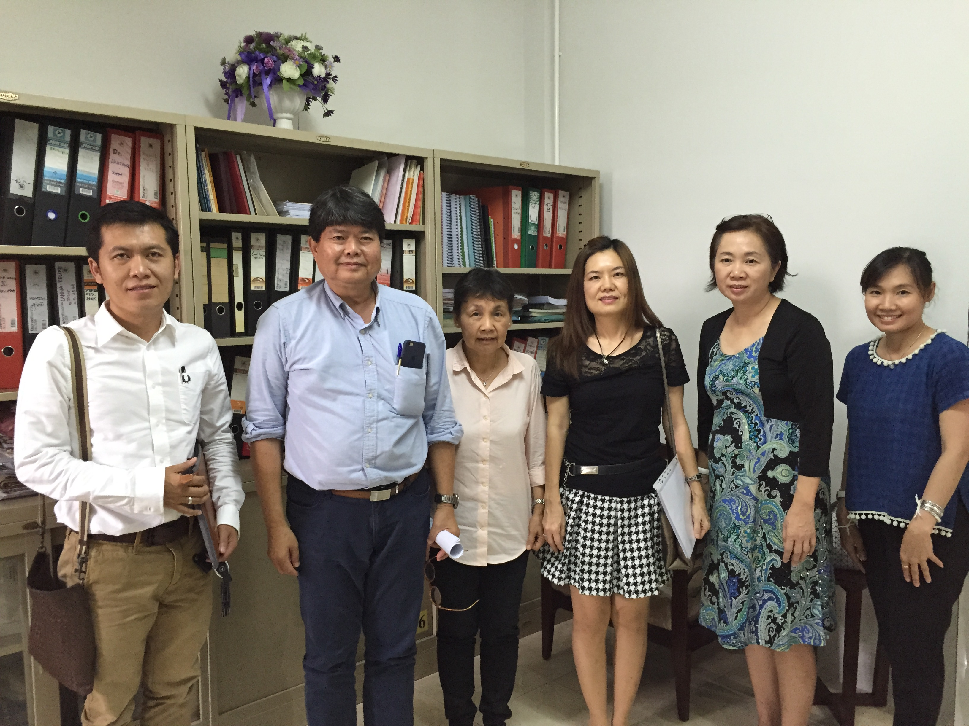 Mrs. Naowarat Sananpanitchkul (The Executive Officer, 003 Beauty Center Co., Ltd.), Dr. Thamonphorn Chaisirirat (Thamonphorn Medical Clinic) and Mr. Thanapol Fusricharoen (Northern Art Co., Ltd.) have visited Manose Health and Beauty Research Center