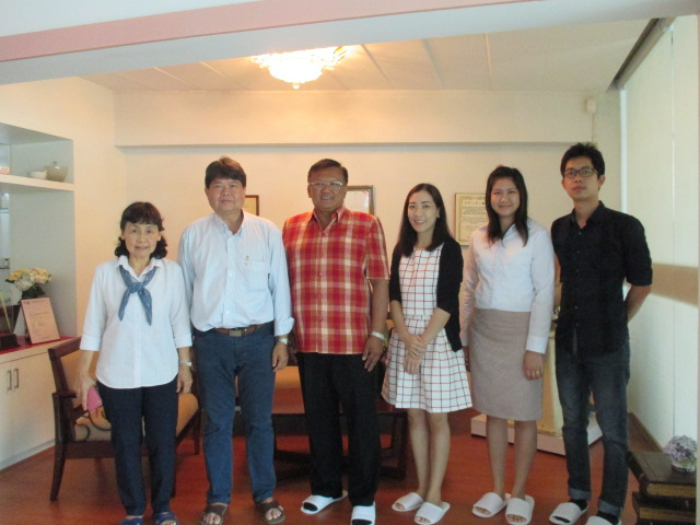 The Executive Officer and Staffs of Bangkok Lab & Cosmetic Co.,Ltd, (BLC) in Ratchaburi have visited Manose Health and Beauty Research Center