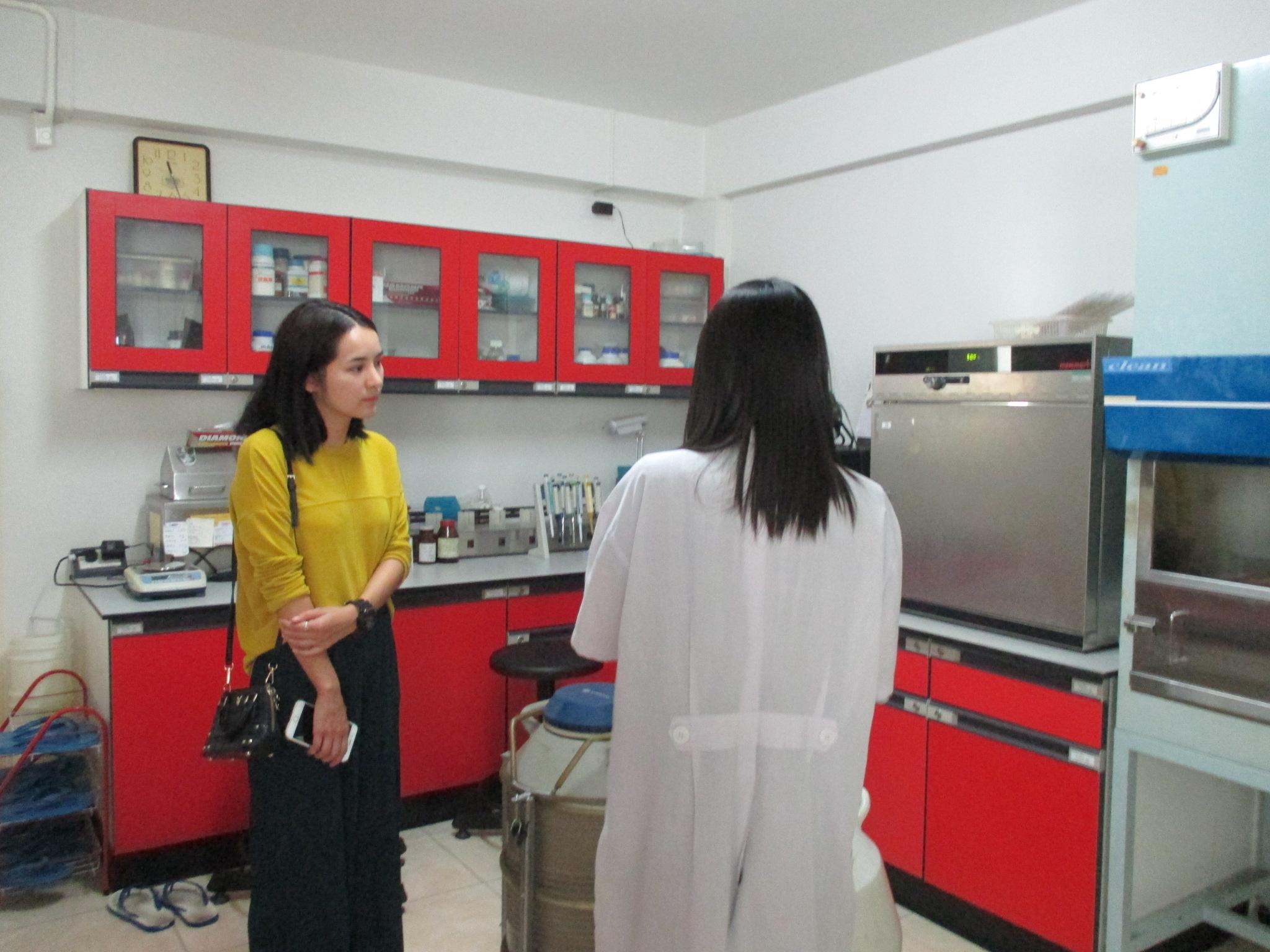 Miss Thunyanan Thanapatbanjong (Khun Nam) has visited Manose Health and Beauty Research Center