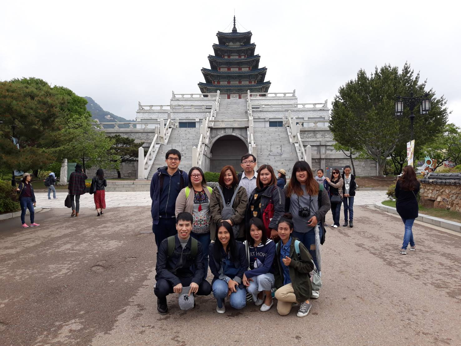 Manose Health and Beauty Research Center Staffs have a study trip in South Korea.