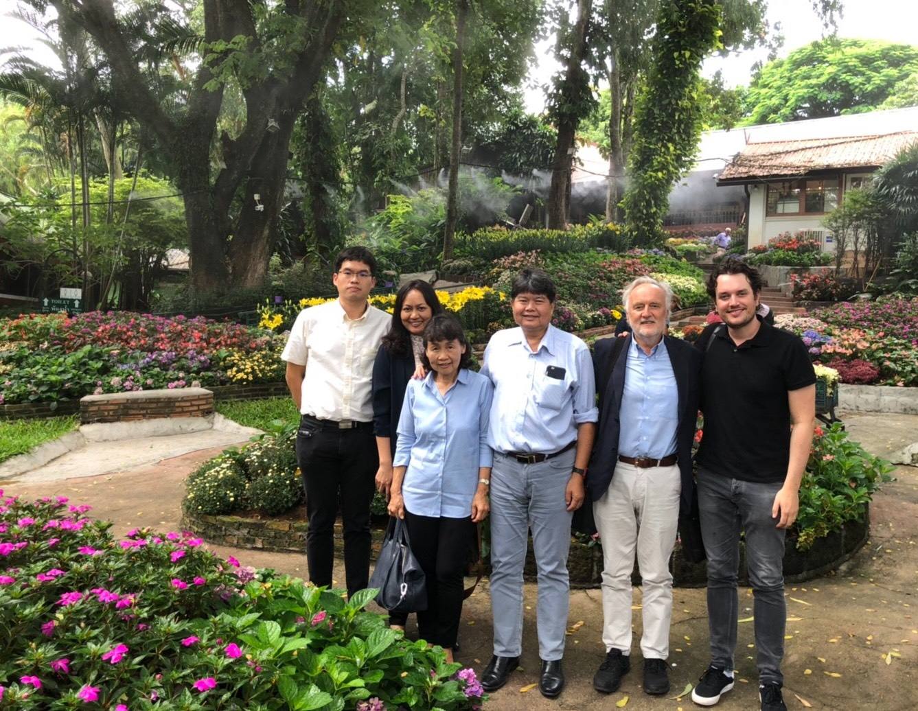 Mr. Jochen Seefried, Chairman and co-founder of Succevo Co. and Mr. Sebastain Seefried, Chief Marketing Officer of Succevo Co. together with Mrs. Wilaiwan Schroeder, former Advisor to Bayern International (BI) from Federal Republic of Germany have visited Manose Health and Beauty Research Center
