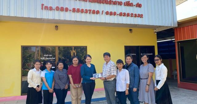 Professor Dr. Jiradej Manosroi and Professor Dr. Aranya Manosroi together with the staffs from Division of Cosmetic Technology, North – Chiang Mai University have visited the job training of the undergraduate students at Waraherb Co., LTD., Chiang Mai.ศาสตราจารย์ ดร.ภก. จีรเดช มโนสร้อย และ ศาสตราจารย์ ดร.ภญ. อรัญญา มโนสร้อย พร้อมด้วย อาจารย์ประจำหลักสูตรวิทยาศาสตรบัณฑิต สาขาเทคโนโลยีเครื่องสำอาง คณะวิศวกรรมศาสตร์และเทคโนโลยี มหาวิทยาลัยนอร์ท – เชียงใหม่ ไปนิเทศนักศึกษาปริญญาตรีฝึกงาน ณ บริษัท วาราเฮิร์บ จำกัด