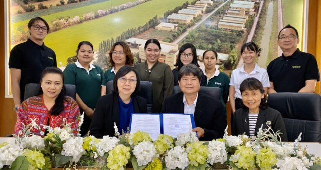 "Professor Dr. Jiradej Manosroi and Professor Dr. Aranya Manosroi, the executives of Manose Health and Beauty Research Center (Manose) have a meeting with the executives of Thai – China Flavours and Fragrances Industry Co.,Ltd. (TCFF) for the collaboration under the Memorandum of Understanding (MOU) between Manose and TCFF, have presented a seminar on the topic of ""General knowledges of D-arabinose, a rare sugar and opportunity for commercialization as food supplement and cosmetic ingredients in Thailand"", and visited the research and development center / factory of TCFF in Phra Nakhon Sri Ayutthaya, Thailand."