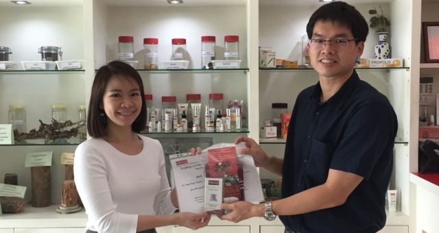 Assistant Professor Dr. of Dent. Weeranuch  Thong-ngarm from Department of Restorative Dentistry and Periodontology, Faculty of Dentistry, Chiang Mai University have visited Manose Health and Beauty Research Center