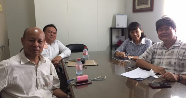 Mr.Pisit Iamlaor together with Mr.Thanadol Sripakdee have visited and discussed with Prof.Dr. Jiradej Manosroi (CEO) and Prof.Dr. Aranya Manosroi (MD) at Manose Health and Beauty Research Center